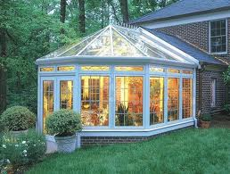 the double pitch sunrooms use either curve or straight and have a typical pitch which adds an aesthetic touch to your sunrooms - Sunroom Ideas