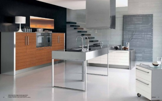 Modular stainless steel kitchen ideas inkdrop for Stainless steel modular kitchen designs