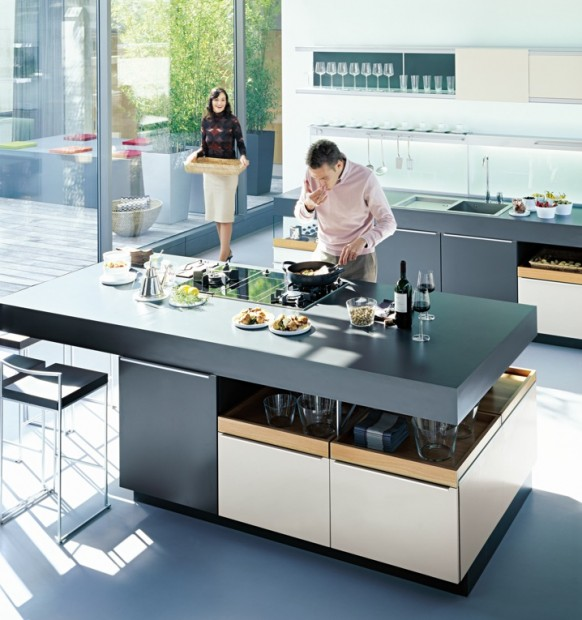 German Kitchen Designs: The Kitchen Ideas That Swivel Your Mind