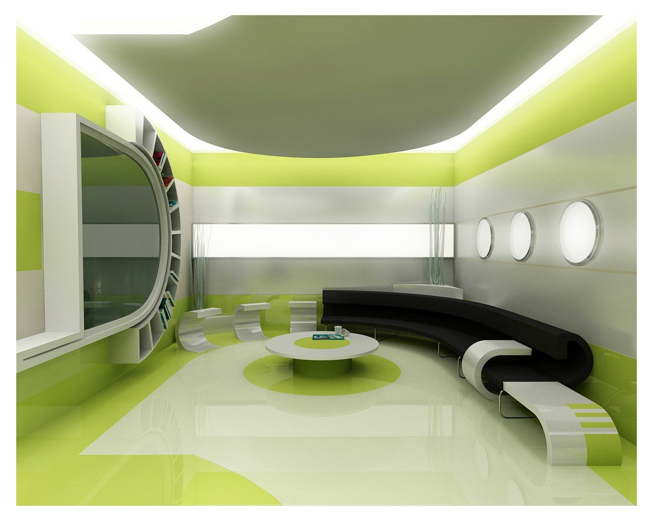 Perfect Green Living Room Interior Design 1280 x 1024 · 106 kB · jpeg